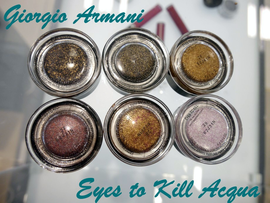 armani eyes to kill