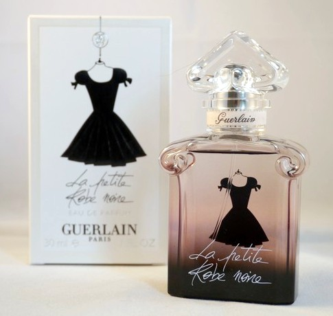 it wasn t love at first sight but it s going to last with guerlain la petite robe noire. Black Bedroom Furniture Sets. Home Design Ideas